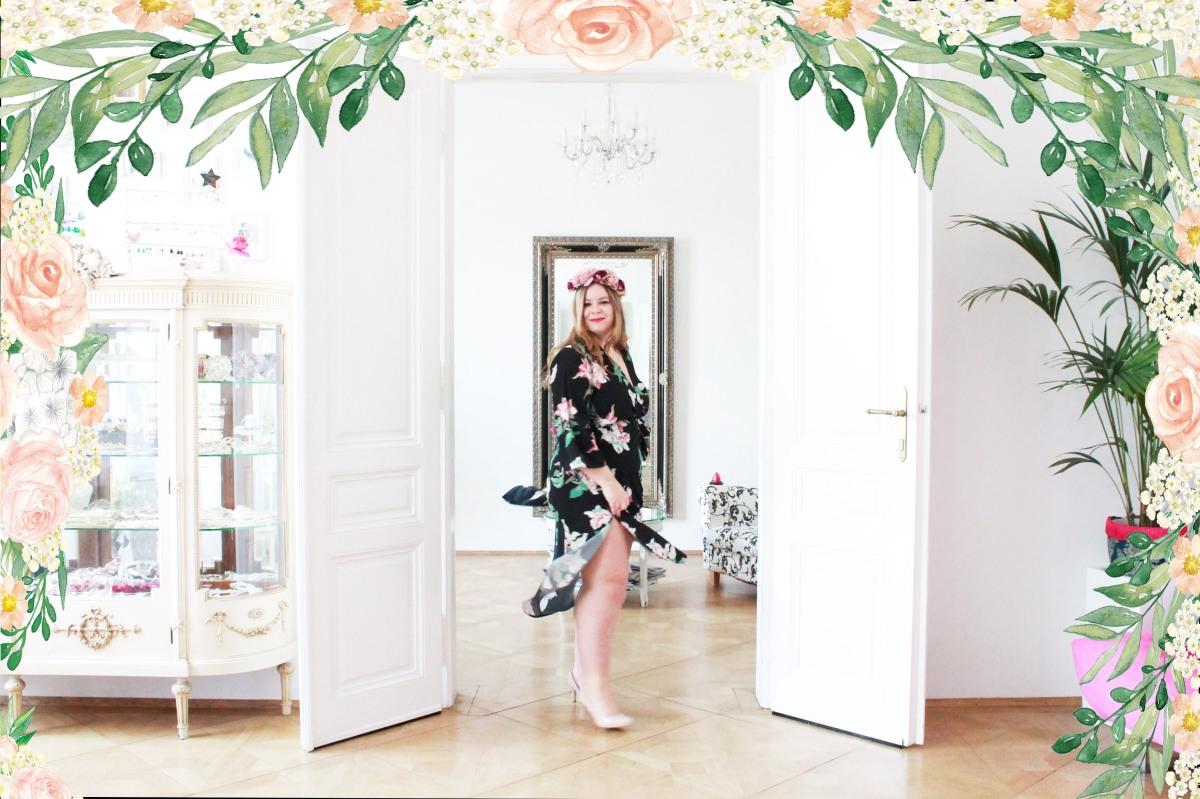 [Plus Size Outfit] Das perfekte Frühlingskleid mit Blumen-Print